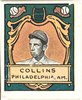 Eddie Collins, Philadelphia Athletics, baseball card portrait LCCN2007683848.tif
