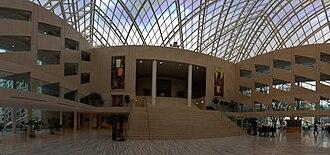 Edmonton City Hall - Image: Edmonton City Hall Interior Pano