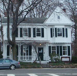 Edward Hopper - Childhood home of Edward Hopper in Upper Nyack, New York