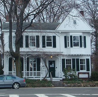 Edward Hopper - Childhood home of Edward Hopper in Upper Nyack, New York