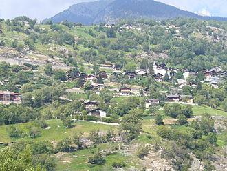 Eggerberg - Eggerberg village