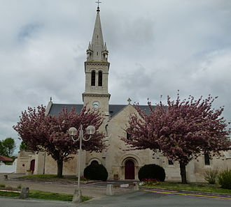 Aigrefeuille-d'Aunis - Image: Eglise Aigrefeuille 4