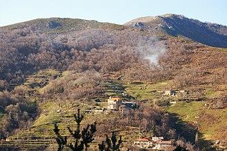 Aizac - A general view of Aizac