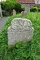Eighteenth Century Gravestone in situ in All Saints Churchyard, Carshalton.jpg