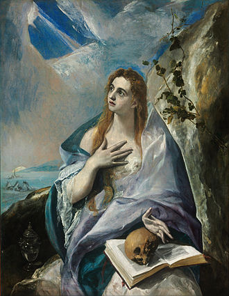 Disciple whom Jesus loved - Mary Magdalene; by El Greco ca. 1580