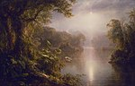 El Rio de Luz (The River of Light) Frederic Edwin Church.jpg