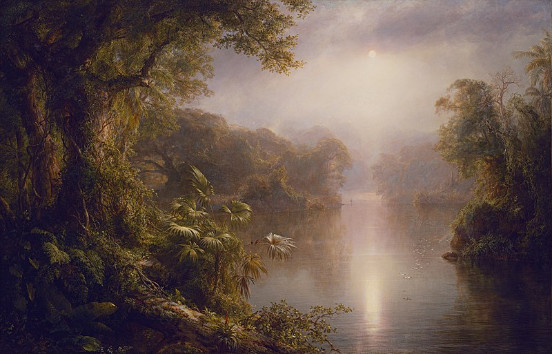 File:El Rio de Luz (The River of Light) Frederic Edwin Church.jpg