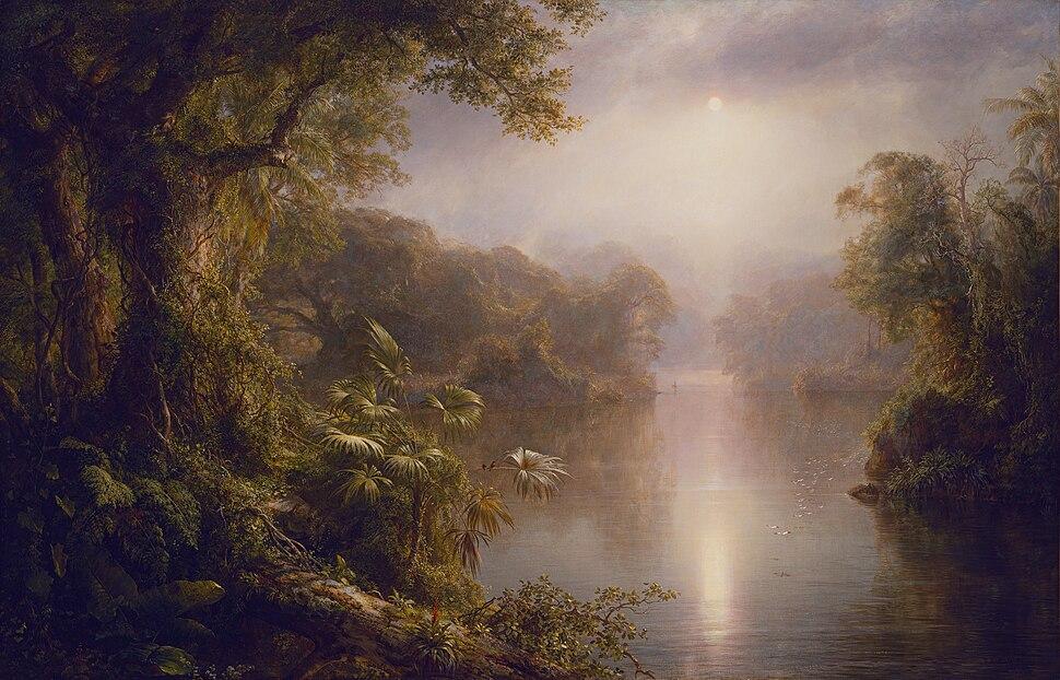 El Rio de Luz (The River of Light) Frederic Edwin Church