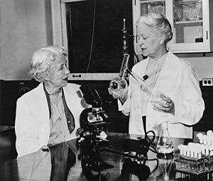Rachel Fuller Brown - Elizabeth Lee Hazen and Brown (right)
