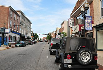 Elkton, Maryland - View of Main Street
