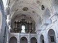 Ellwangen - Schönenbergkirche - Hauptschiff - Blick zur Orgel 2013.jpg
