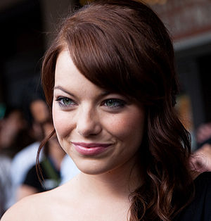 Emma Stone - Stone at the Zombieland world premiere in 2009