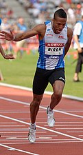 Emmanuel Biron Men 100 m French Athletics Championships 2013 t164144 (cropped).jpg