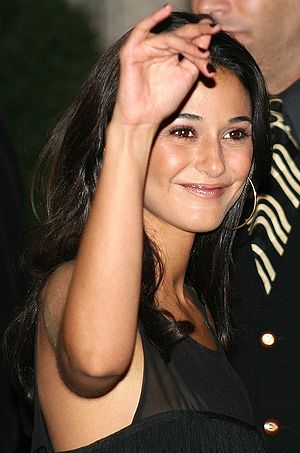 Emmanuelle Chriqui at the 2008 Toronto Interna...