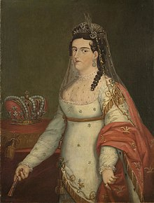 alt=Description de l'image Emperatriz Ana Maria by Josephus Arias Huerta.jpg.