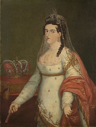 Imperial Crown of Mexico - Image: Emperatriz Ana Maria by Josephus Arias Huerta