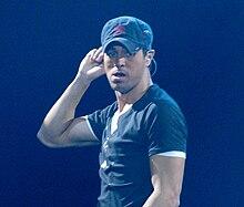 Enrique Iglesias in concerto 2007.