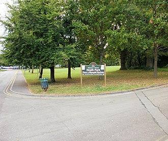Heath, Cardiff - Entrance to Heath Park