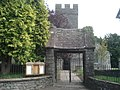 Entrance to St Michael's at Cilycwm - geograph.org.uk - 539899.jpg
