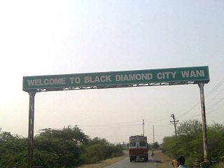 Wani, Yavatmal City in Maharashtra, India