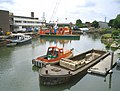 Environment Agency Boatyard at Osney Lock, River Thames - geograph.org.uk - 357906.jpg