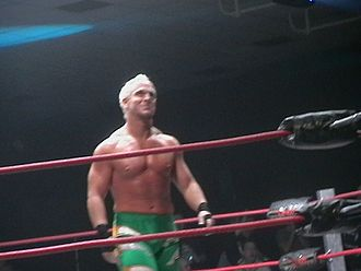 Eric Young (wrestler) - Eric Young at a house show in January 2009