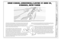 Erie Canal (Original) Locks 37 and 38, Title Sheet - Erie Canal (Original), Locks 37 and 38, 84 North Mohawk Street, Cohoes, Albany County, NY HAER NY-337 (sheet 1 of 6).png