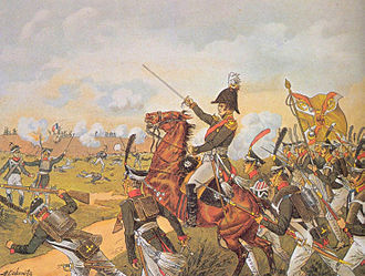 Imperial Russian Army - General Yermolov lead the counterattack on the Great Redoubt during the Battle of Borodino
