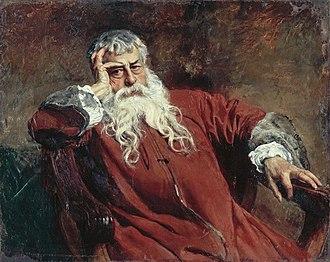 Ernest Meissonier - Ernest Meissonier, Self-portrait, 1889.