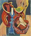 Ernst Ludwig Kirchner Stilleben mit Krügen und Kerzen 1917.jpg