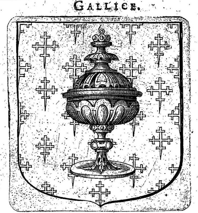 Escudo - reino de Galicia - Kingdom of Galicia - Le blason des Armoiries