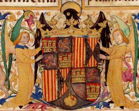 Escudo de Isabel la Católica ca 1495