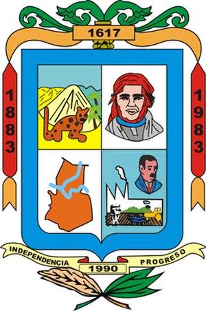 Apatzingán - Image: Escudo de apatzingan