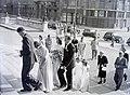 Esküvői fotó, 1948 Budapest. Fortepan 105328.jpg