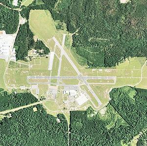 Esler Airfield - USGS aerial image, 2004