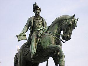 Constitutional Charter of 1826 - Image: Estatua D Pedro IV b (Porto)