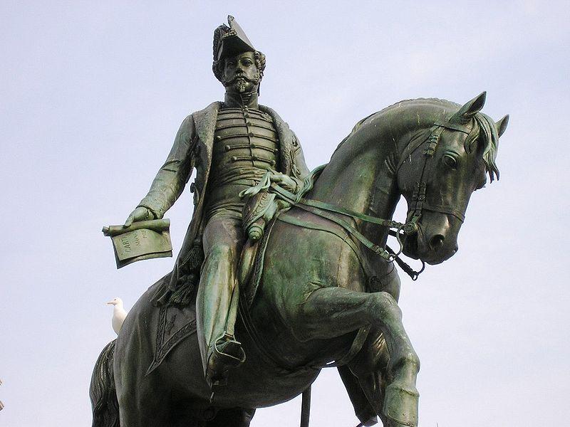 Imagem:Estatua D Pedro IV b (Porto).JPG