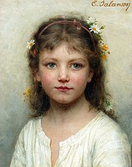 Eugénie Marie Salanson - Head of a Girl.jpg