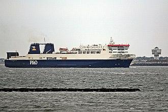 MS European Endeavour - Image: European Endeavour, River Mersey (geograph 3786341)