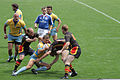 European Sevens 2008, Ukraine vs Belgium, tackle.jpg