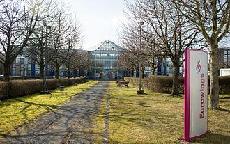 Eurowings - Eurowings headquarters in Düsseldorf