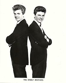 Phil (left) and Don (right) Everly 1965 publicity photo.