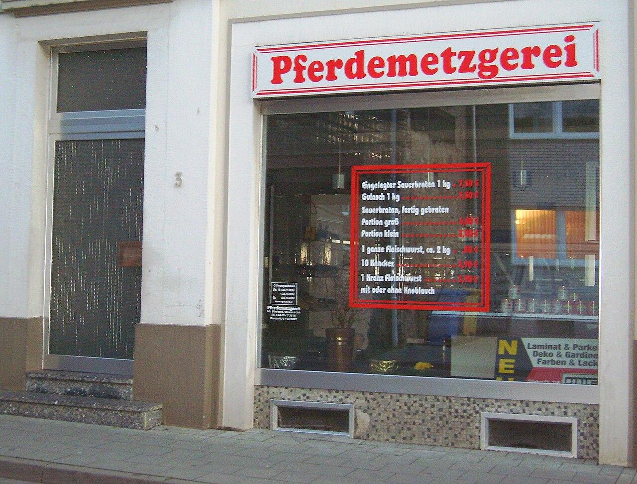 Pferdemetzger Eschweiler