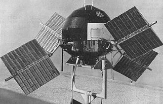 Solar cell - NASA used solar cells on its spacecraft from the very beginning. For Example, Explorer 6, launched in 1959, had four arrays that folded out once in orbit. They provided power for months in space.
