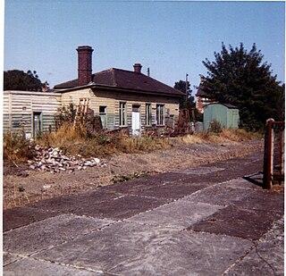 Eynsham railway station Former railway station in Oxfordshire, England