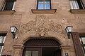 Fürth Alexanderstraße 6 Gasthaus Zum Kavallerieheim Rocaille mit Relief eines wilden Mannes 2011 09 10.jpg