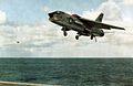 F-8C From VF-194 approaching USS BH Richard (CVA-31) 1964.jpg