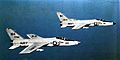 F11F-1 Tigers of VF-111 in flight c1960.jpg