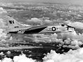 F8U-1 Crusader of VMF-334 in flight.jpeg