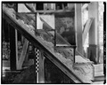FIRST FLOOR, DETAIL OF STAIRCASE STEP ENDS - Genesar, State Route 611, Berlin, Worcester County, MD HABS MD,24-BERL.V,2-36.tif